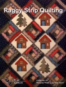 Amazon.com: BK1506 Raggy Strip Quilting Book by Four Corners Designs