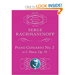 Piano Concerto No. 2: In C Minor, Op. 18 (Dover Miniature Scores) (Dover Miniature Music Scores) Serge Rachmaninoff and Music Scores
