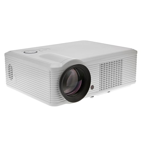 Lightinthebox Svga 2000 Lumens Lcd Projector With Hdmi Input Tv Tunerhome Video Movie Theater Mini Projectors, Color=White