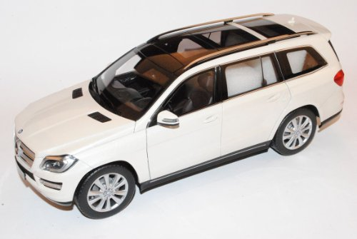 Mercedes-Benz GL-Klasse X166 SUV Weiss Ab 2012 1/18 Norev Modell Auto