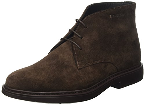 Docksteps Business, Scarpe Derby Stringate Uomo, Marrone (Tdm), 42 EU