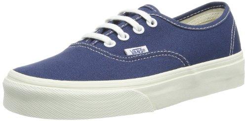 Vans U Authentic, Unisex-Adults' Low-Top Trainers, Blue (dark Denim/marshmallow), 6.5 UK