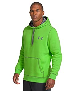Under Armour Men's UA Rival Hoodie Large GECKO GREEN