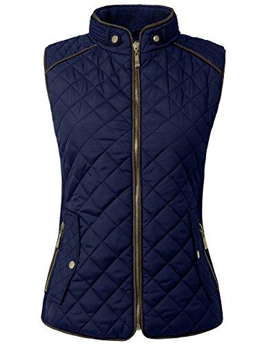 ne-people-womens-lightweight-quilted-zip-vest-medium-newj40navy