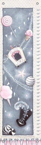 "Oopsy Daisy Growth Chart, La Belle Cirque, 12"" x 42"""