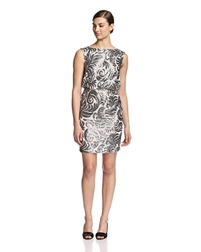 Adrianna Papell Women's Open Back Sequined Dress