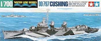 1/700 USS Destroyer DD797 Cushing by Tamiya
