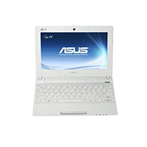 ASUS X101CH-EU17-WT Netbook with Intel N2600 (1.6Ghz) Dual Core Processor; Matte White