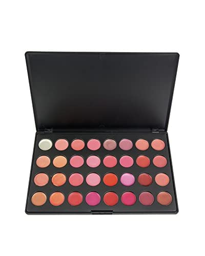 Crown Brush 32-Color Lip Palette