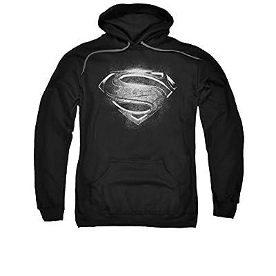 Superman: Hoodie - Man of Steel Contrast Logo