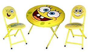 Spongebob Squarepants 3 Piece Table And Chair