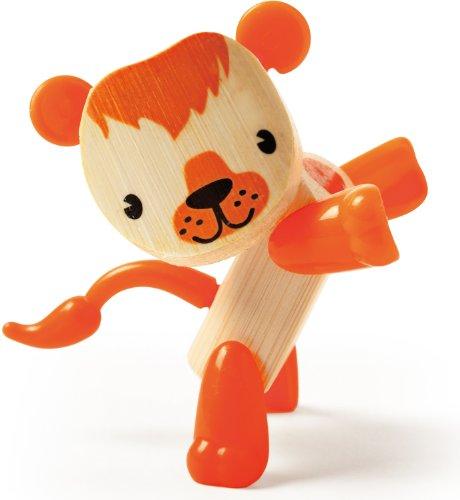 Hape Mini-mals Lion Bamboo Play Figure