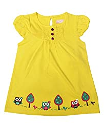 JUSCUBS FROCK- OWL