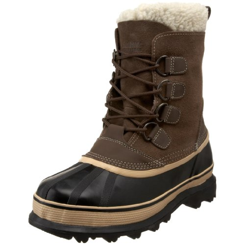 Northside Men's Back Country Waterproof Padded Sherpa Collar Pack Boot