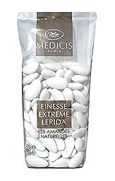 Medicis French Almond Dragees (French Jordan Almonds) White 80pc 250g (8.8oz)