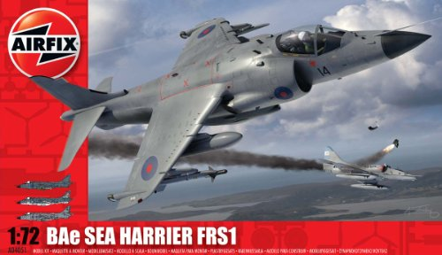 Airfix A04051 Sea Harrier FRS 1 1:72 Scale Military Aircraft Series 4 Model Kit