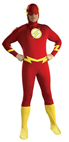 Rubies Mens Flash Marvel Superhero Theme Party Halloween Costume
