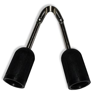 Threaded Euro Style Articulated Speargun Band / Sling Wishbone