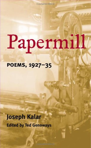 PAPERMILL: Poems, 1927-35 (American Poetry Recovery Series)
