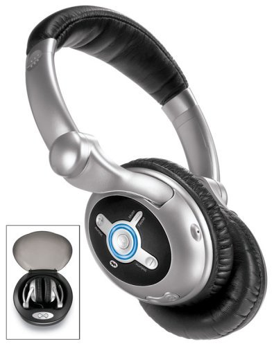 Sharper Image 10X Wireless Headphones With Class 1 Bluetooth (Aa001)
