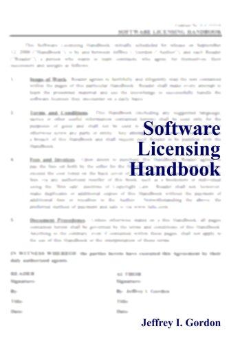Software Licensing Handbook