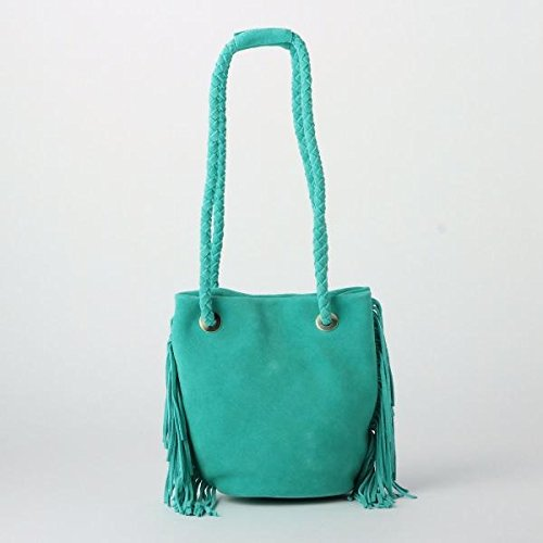 Amazon.co.jp: アナザーエディション(Another Edition) 2Wayフリンジトートバッグ/AE 2Way FRNG TOTE【ターコイズ/フリー(00)】: シューズ&バッグ:通販