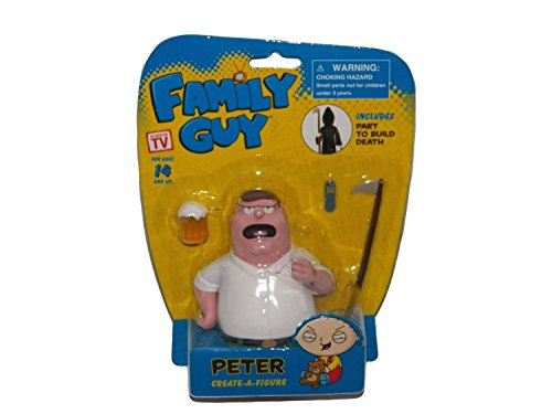 Family Guy Create-a-Figure, Peter Griffin (Includes Part to Build Death) by WALGREEN CO
