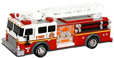 "Toy State 14"" Rush And Rescue Police And Fire - Pumper Fire Truck by Toy State"