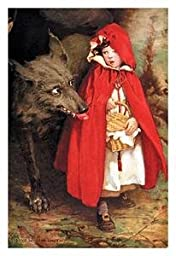 Paper poster printed on 20 x 30 stock. Little Red Riding Hood