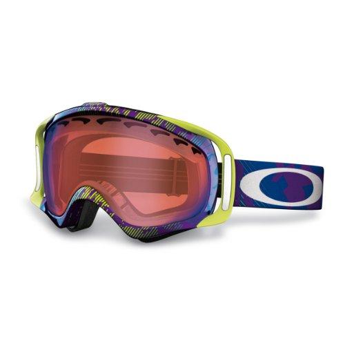 Oakley Crowbar Snow Goggles Purple Blue Iridium