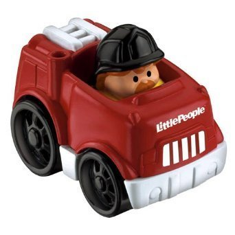 Little People Wheelies Firetruck - 1