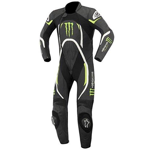 Alpinestars Xelos Monster Energy Leather Race Racing Motorcycle Motorbike Suit (EURO 50 UK 40)