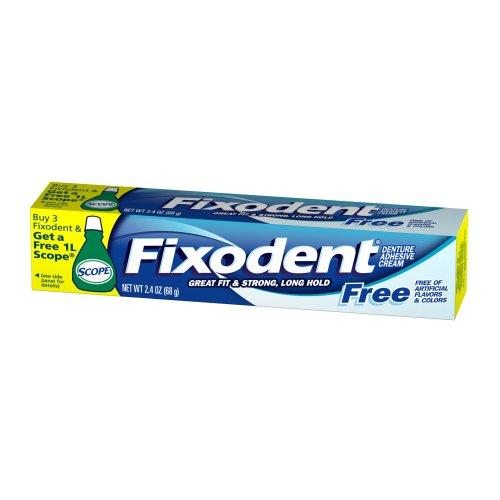 Fixodent Denture Adhesive Cream Fixodent Free 70 ml