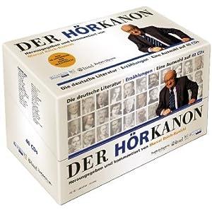 Hörbuch & Kulturklassiker   Der Hörkanon von Reich Ranicki (Hg.) nur 59€ inkl. Versand (Vergleich 95€)