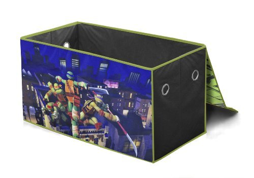 Nickelodeon Teenage Mutant Ninja Turtles Collapsible Storage Trunk Toy, Kids, Play, Children front-779591