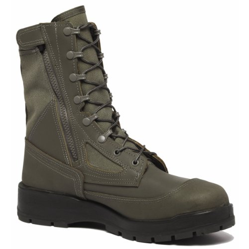 Belleville 639Z Sage Green USAF Hot Weather Side Zip Composite Toe Boot, 10 (Side Zip Sage Green compare prices)