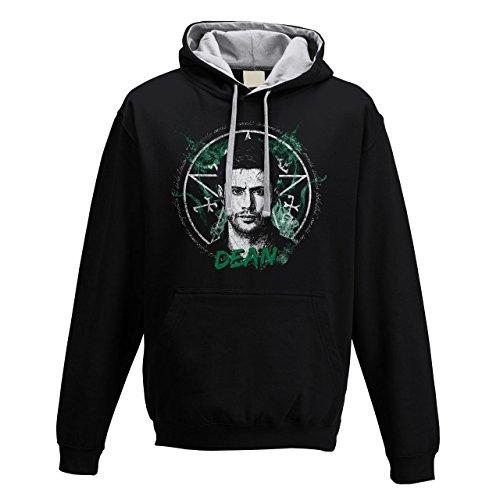 hoodie-kapuzen-sweatshirt-doppio-colore-herren-dean-vampire-hunter-l