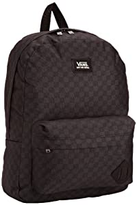 Vans Old Skool II Backpack, Men's Wallet, Black/Charcoal, One Size