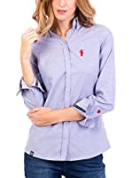 POLO CLUB Camisa Mujer Miss Rigby Oxford (Azul)