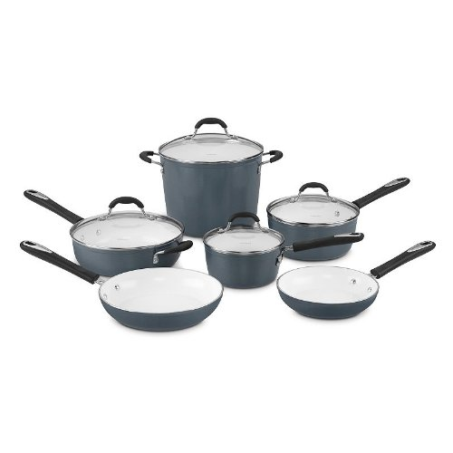 Cuisinart Ceramica 10-pc. Nonstick Cookware Set