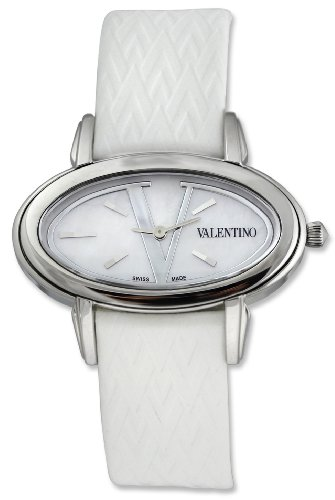 Valentino Signature Oval Stainless Steel Womens Fashion Strap Watch V50SBQ9902-S001
