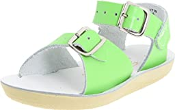 Salt Water Sandals by Hoy Shoe Sun-San Surfer,Lime Green,10 M US Toddler