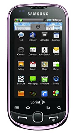 Samsung Intercept, Satin Pink (Sprint)