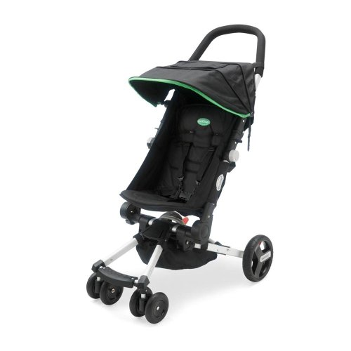 QuickSmart Easy Fold Stroller - Black and Lime - 1