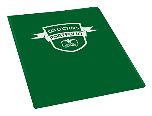 Portfolio 9-Pocket Standard-Size Green Card Game
