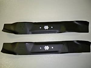 """Set of 2, Made In USA Replacement Blades For MTD 742-0610, 942-0610, 742-0610A, 942-0610A. 38"""" Decks."""