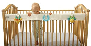 Leachco Organic Easy Teether - Crib Rail Cover - Ivory