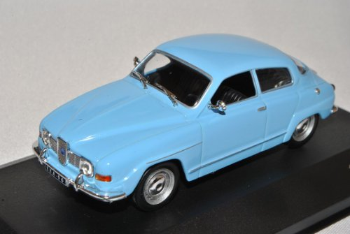 Saab 96 V4 Limousine Blau 1960-1980 1/43 Whitebox Modell Auto