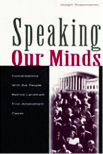 Speaking Our Minds: Conversations With the People Behind...