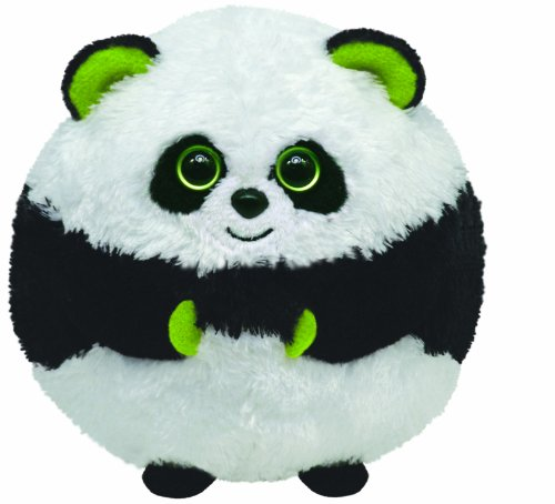 Ty Beanie Ballz - Bonsai The Panda front-523970